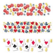 confettis de table, décorations de table, décoration poker, confettis poker, décorations poker Confettis de Table, Poker Faites Vos Jeux