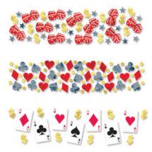 confettis de table, décorations de table, décoration poker, confettis poker, décorations poker, Confettis de Table, Poker Faites Vos Jeux