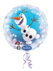 ballon hélium, ballon reine des neiges, ballon disney, ballon aluminium, ballon mylar, décorations disney, ballon fille, ballon anniversaire, ballon olaf Ballon Aluminium, Disney, Reine des Neiges Olaf