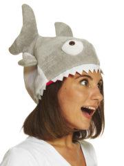 chapeau poisson, chapeau humour, chapeau humoristique, déguisement poisson accessoire, chapeau piranha, déguisement de poisson, thème de la mer Chapeau Piranha