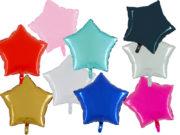 ballon étoile, ballon aluminium, ballon mylar, ballons étoiles anniversaires, ballons en forme d'étoile, ballon hélium Ballon Aluminium, Etoile «Apta», 9 Couleurs