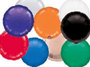 ballon hélium, ballon aluminium, ballon mylar, ballons anniversaire, ballon métal, ballons ronds aluminium Ballon Aluminium, Cercle «Amsca», 10 Couleurs