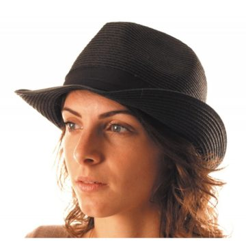 chapeau, borsalino, chapeaux borsalino, accessoires chapeaux, chapeaux paris, chapeaux tissu, chapeau vacances, chapeau noir Chapeau Borsalino Fedora, Noir