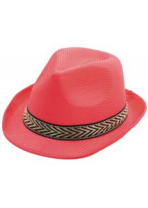 chapeau, borsalino, chapeaux borsalino, accessoires chapeaux, chapeaux paris, chapeaux forme année 30, chapeau rose, Chapeau Borsalino Teddy, Rose