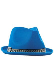 chapeau Borsalino tissu, chapeau bleu, Chapeau Borsalino Teddy, Bleu