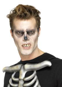 fausses dents, dents pourries déguisement, dentier de déguisement, fausses dents accessoire, fausses dents halloween, dents halloween, Dentier de Squelette Zombie