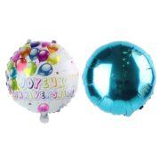 ballon aluminium, ballon mylar, ballon anniversaire, ballon joyeux anniversaire, Ballon Aluminium Anniversaire, Duo Garçon