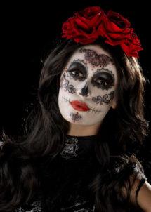 kit maquillage dia de los muertos, kit maquillage jour des morts, kit maquillage day of death, maquillage mort mexicaine, Kit de Maquillage Jour des Morts