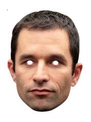 masque célébrités carton, masque politique carton, masque politique déguisement, masque célébrité déguisement, masque benoit hamon, masque hamon déguisement, masques déguisements, masque politique photo Masque Benoit Hamon