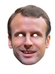 masque célébrités carton, masque politique carton, masque politique déguisement, masque célébrité déguisement, masque emmanuel macaron, masque macron déguisement, masques déguisements, masque politique photo Masque Emmanuel Macron