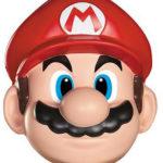 masque mario, super mario, accessoire mario déguisement, mario et luigi déguisement, déguisement jeux vidéos Masque de Mario