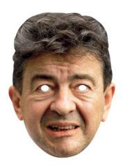 masque célébrités carton, masque politique carton, masque politique déguisement, masque célébrité déguisement, masque jean luc mélanchon, masque mélanchon déguisement, masques déguisements, masque politique photo Masque Jean Luc Mélanchon