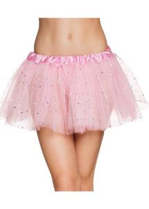 tutu paillettes, tutus jupons déguisement, déguisement tutus, jupons tutus en tulle, tutu déguisement danseuse, tutu rose, Tutu Rose à Paillettes, en Tulle