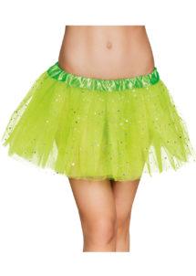 tutu paillettes, tutus jupons déguisement, déguisement tutus, jupons tutus en tulle, tutu déguisement danseuse, tutu vert, Tutu Vert à Paillettes, en Tulle