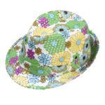 chapeau hawaï, chapeau hawaïen, chapeaux borsalino, accessoires chapeaux, chapeaux paris, chapeaux à fleurs Chapeau Borsalino Fleurs et Paillettes