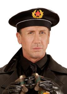 casquette déguisement, casquette marine russe déguisement, déguisement marin russe, accessoire russe déguisement, déguisement militaire russe, déguisement soviétique, Casquette de Marin Russe