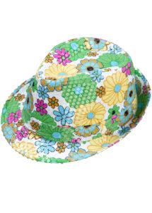 chapeau hawaï, chapeau hawaïen, chapeaux borsalino, accessoires chapeaux, chapeaux paris, chapeaux à fleurs, Chapeau Borsalino Fleurs et Paillettes