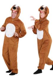 déguisement de chien adulte, déguisements animaux paris, déguisement combinaison de chien, déguisement couple de chiens Déguisement Couple de Chiens