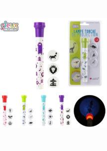 Lampe led jouet, jouets à pinata, cadeaux pinata, Lampe Torche à LED, avec 3 Projecteurs