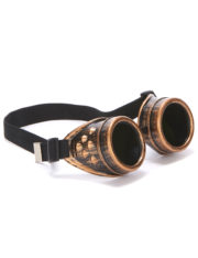 lunettes steampunk, steampunk accessoire, déguisement steampunck, déguisement steampunk, lunettes aviateur steampunk Lunettes Steampunk, Plastique Rigide
