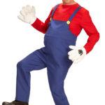 déguisement de mario, déguisement mario plombier, déguisement mario pas cher, déguisement de plombier, costume de mario pas cher Déguisement de Super Plombier Mario