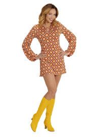 déguisement disco femme, déguisement années 70 femme, tunique disco femme déguisement, déguisement disco femme pas cher, déguisement disco paris, robe disco pour femme déguisement Déguisement Disco Groovy 70, Robe Rhombus