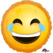 ballon hélium, ballon emoticone, ballon MDR, ballon emojis, ballons anniversaires, ballon jaune, ballon aluminium Ballon Aluminium, Emoticone MDR