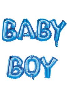 ballon baby shower garçon, ballon hélium, ballon à l'hélium, ballon naissance garçon, décorations baby shower garçon, Ballon Baby Shower, Lettres Baby Boy