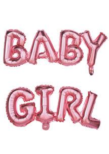 ballon baby shower, ballon baby shower, ballon naissance fille, Ballon Baby Shower, Lettres Baby Girl
