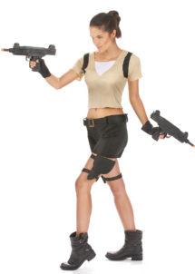 lara croft, déguisement lara croft adulte, déguisement laracroft femme, déguisement lara croft pour femme, Déguisement Aventurière Lara