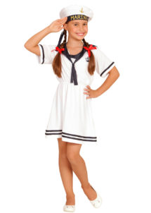 déguisement fille marine, déguisement marin enfant, déguisement marin fille, déguisement marin enfant, Déguisement Marinette, Fille