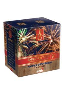 feux d'artifice automatiques, feux d'artifices compacts, feux d'artifice pas cher, feux d'artifices pour particuliers, Feux d'Artifices Compacts, Signature 09