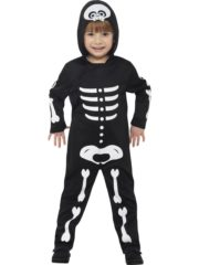 déguisement halloween enfant, déguisement squelette garçon, costume squelette enfant, costume halloween garçon, déguisement enfant hallowen Déguisement de Squelette Mini Boy, Garçon