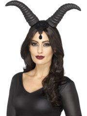 cornes de démon noir, cornes maléfiques, cornes de maléfique, cornes noires démon, cornes halloween Cornes de Démon Dark Queen