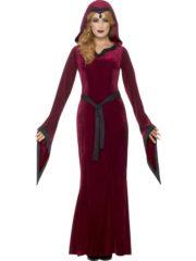 déguisement vampire femme, costume vampire femme halloween, déguisement halloween femme, robe de vampire femme halloween, déguisement diable femme Déguisement Vampire Médiéval Fever