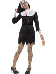déguisement bonne soeur halloween, déguisement nonne halloween, déguisement femme halloween, costume femme halloween, déguisement halloween femme Déguisement Bonne Soeur, Nonne Zombie