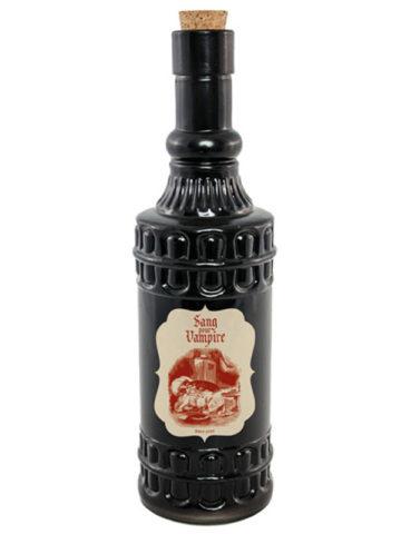 bouteille sang de vampire en verre aux feux de la f te paris. Black Bedroom Furniture Sets. Home Design Ideas