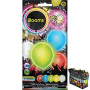 ballons à led, ballons lumineux, ballons fluos, ballons de baudruche, ballons hélium, ballons anniversaires, ballons lumineux Ballon à LED, Multi Couleurs, x 5