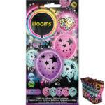 ballons à led, ballons lumineux, ballons fluos, ballons de baudruche, ballons hélium, ballons anniversaires, ballons lumineux Ballon à LED, Etoiles, x 5