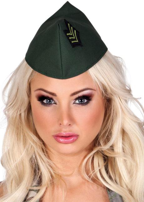 calot militaire, accessoire militaire déguisement, coiffe militaire, chapeau militaire femme, accessoire déguisement militaire, Calot Militaire