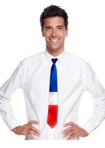 supporters france, cravate drapeau france, accessoires france, accessoires 14 juillet, cravate drapeau, accessoires français déguisement, Cravate France