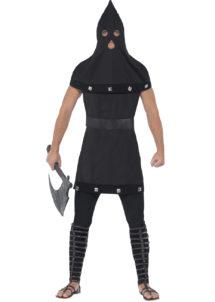 déguisement halloween homme, costume halloween homme, déguisement bourreau halloween, costume bourreau halloween homme, Déguisement de Bourreau Médiéval