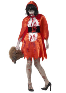déguisement halloween femme, costume halloween femme, déguisement chaperon rouge halloween femme, déguisement chaperon rouge halloween, Déguisement Chaperon Rouge Zombie