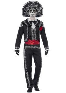 déguisement jour des morts homme, costume jour des morts homme, déguisement mort mexicaine adulte, déguisement halloween homme, déguisement day of death homme, Déguisement Jour des Morts Mexicain