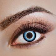 lentilles halloween, lentilles fantaisie, lentilles déguisement, lentilles déguisement halloween, lentilles de couleur, lentilles fete, lentilles de contact déguisement, lentilles bleues, lentilles bleues halloween Lentilles Bleues, Blue Impact