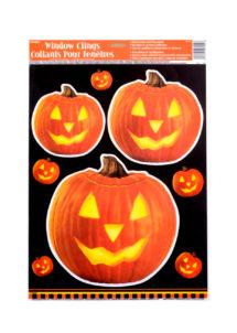 décorations halloween, décorations citrouilles halloween, décorations fenêtres halloween, tickets halloween fenêtre, décorations pour enfant halloween, Stickers de Fenêtre Halloween, Citrouilles