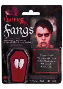 canines de vampire, canines de vampire halloween, fausses dents halloween, fausses canines halloween, dents de vampire halloween, Canines de Vampire, avec Colle de Fixation