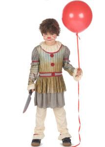 déguisement clown effrayant garçon, déguisement clown halloween garçon, costume clown halloween garçon, déguisement garçon halloween, déguisement clown halloween garçon, Déguisement de Clown Penny, Garçon