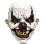 masque de déguisement, accessoire masque déguisement, accessoire masque halloween, accessoire déguisement halloween, masque clown halloween, accessoire masque clown horreur, masque latex déguisement, masque clown diabolique, masque clown halloween, masque clown maléfique Masque de Clown Sinistre, Rouge Sang