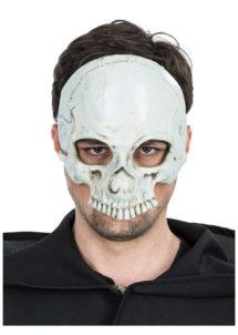 masque tête de mort, masque de déguisement, masque de déguisement, masque déguisement halloween, accessoire halloween déguisement, masque de squelette, masque de tête de mort, Demi Masque Tête de Mort Halloween